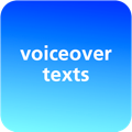 voiceover texts
